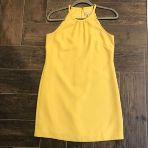 Banana Republic Yellow Dress 4P